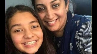 "Smriti Irani Shuts Down An ""Idiot Bully"" Who Targeted Her Daughter:""Zoish Will Fight Back""