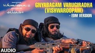 Gnyabagam Varugiradha (Vishwaroopam) - Edm Version Audio Song |Vishwaroopam 2 Tamil| Kamal Haasan