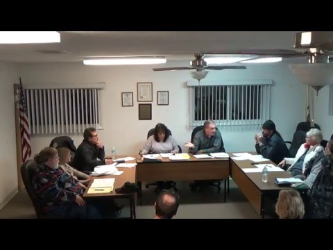 12/7/15 Village of Holiday Hills Board Meeting
