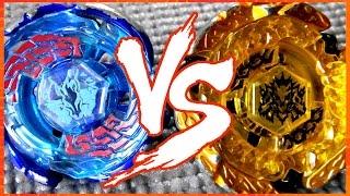 Galaxy Pegasus W105R2F vs Hades Kerbecs BD145DS - BATALHA METAL FIGHT BEYBLADE!!