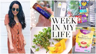 WIML: tidying up, get ready with me & grocery shopping!