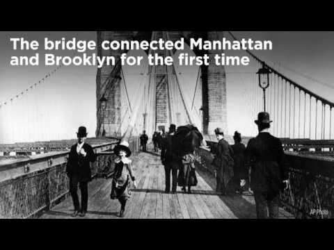 This Day In History: The Brooklyn Bridge Opens