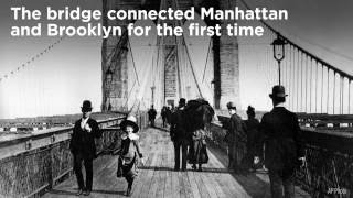 Video This Day In History: The Brooklyn Bridge Opens download MP3, 3GP, MP4, WEBM, AVI, FLV Juni 2018