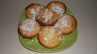 Аппетитные творожные кексы. Пошаговый рецепт