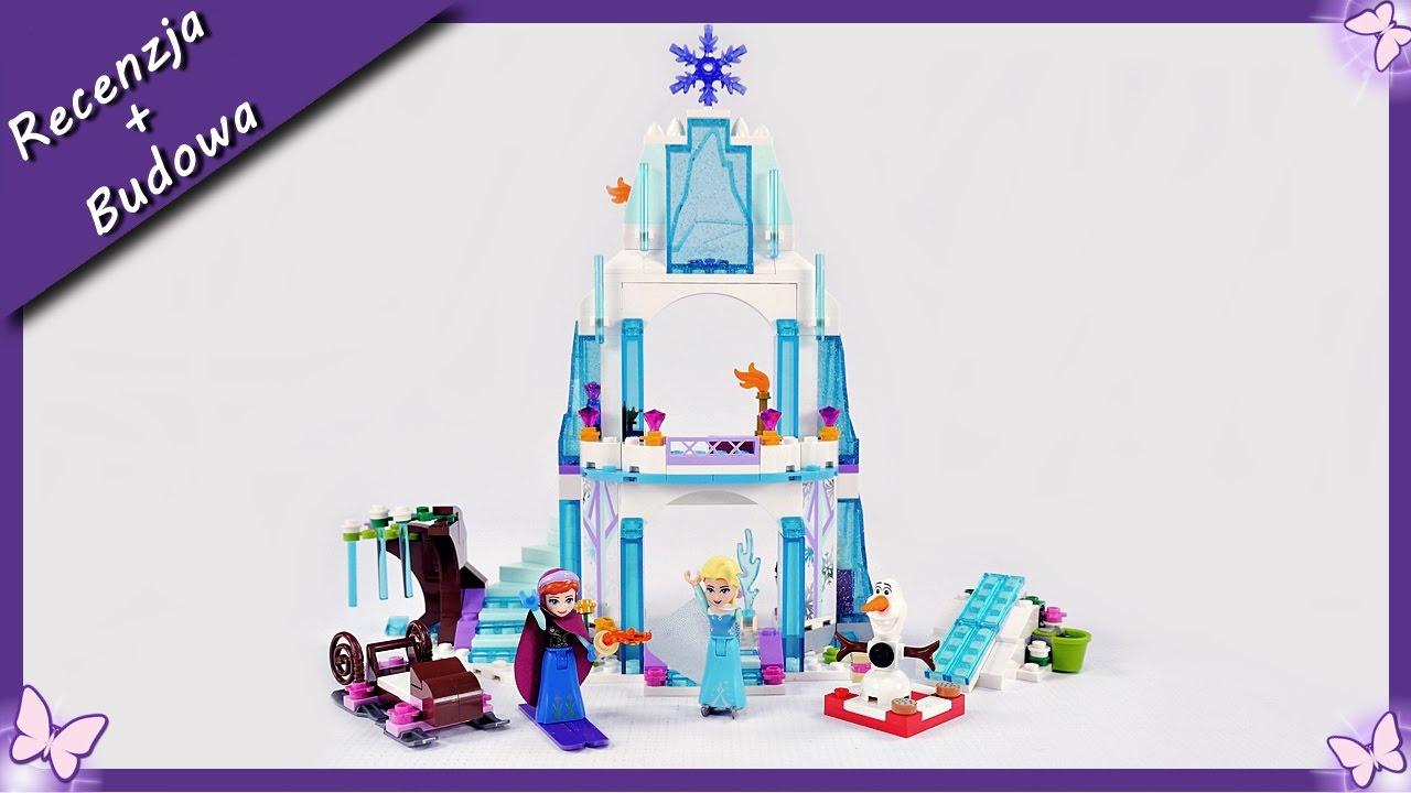 Lodowy Zamek Elsy Kraina Lodu Budowanie Klocków Lego Disney