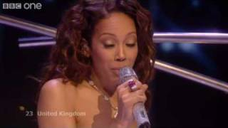 UK - Jade Ewen - It's My Time - Eurovision Song Contest 2009 Final - BBC One