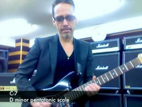 Footprints (minor blues guitar lesson)