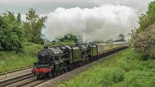 A Black Five, A Royal Scot & A Whistler - Preserved Perfection !