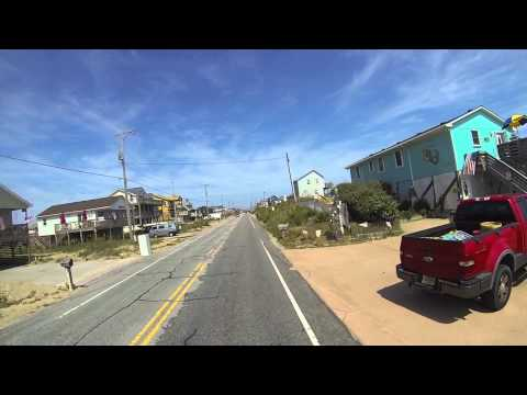 Cruise through Kitty Hawk OBX North Carolina