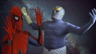 Spider-Man Vs Thanos - Avengers Infinity War Parody