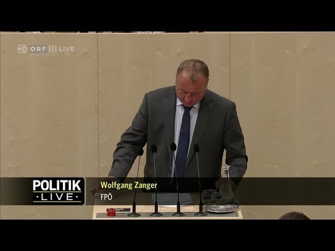 Wolfgang Zanger - Familie und Jugend - (Budget 2018, 2019) - 18.4.2018 - YouTube