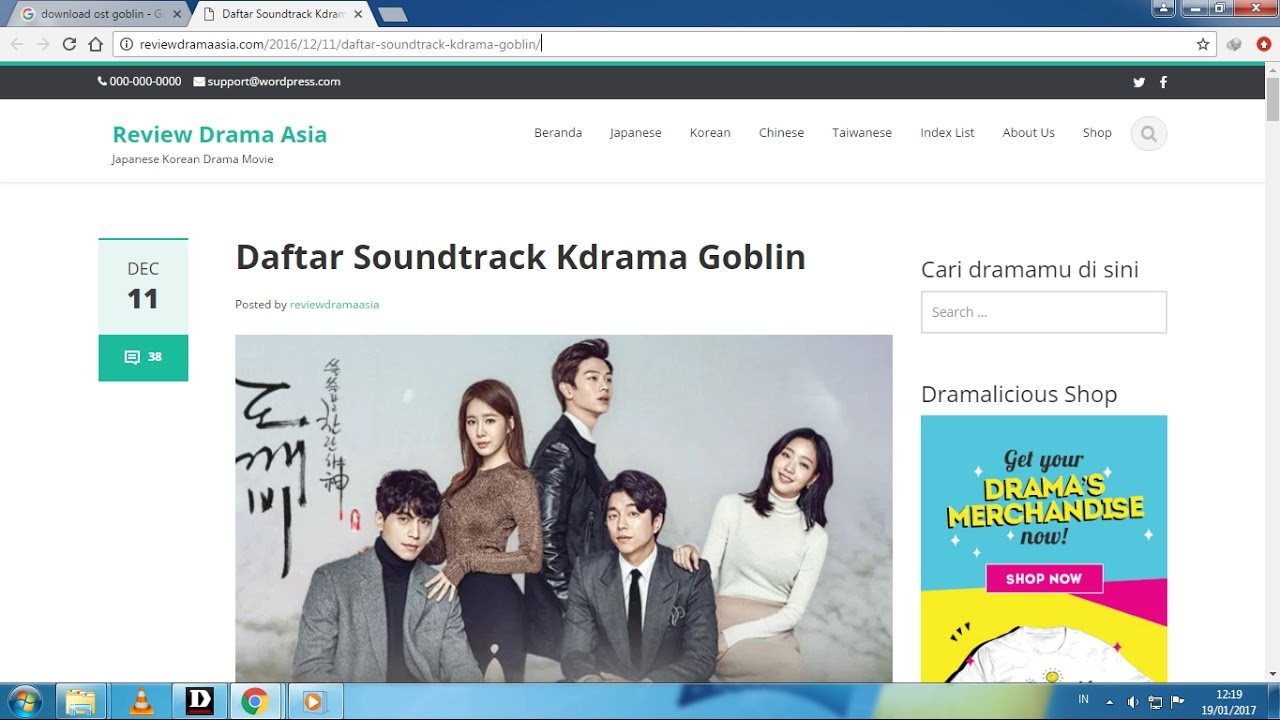 free download film drama korea goblin sub indo