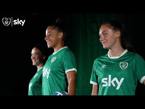 Sky announced as the first-ever Primary Partner of the Ireland Women's National Team