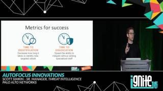 AutoFocus Innovations: Becoming an Advanced Threat Hunter (2016)