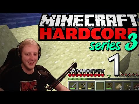 "Minecraft Hardcore - S3E1 - ""A promising beginning"" • Highlights"