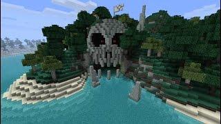 Minecraft Skyblock Fun : SKULL ISLAND!!