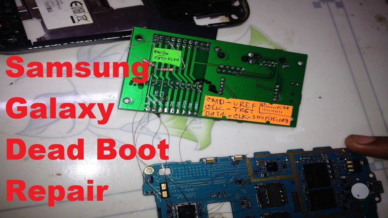Samsung Galaxy Easy Jtag Boot Repair EMMC Repair