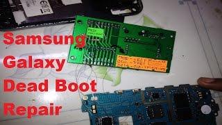 Samsung Galaxy Easy jtag boot Repair eMMC Repair - Part 1
