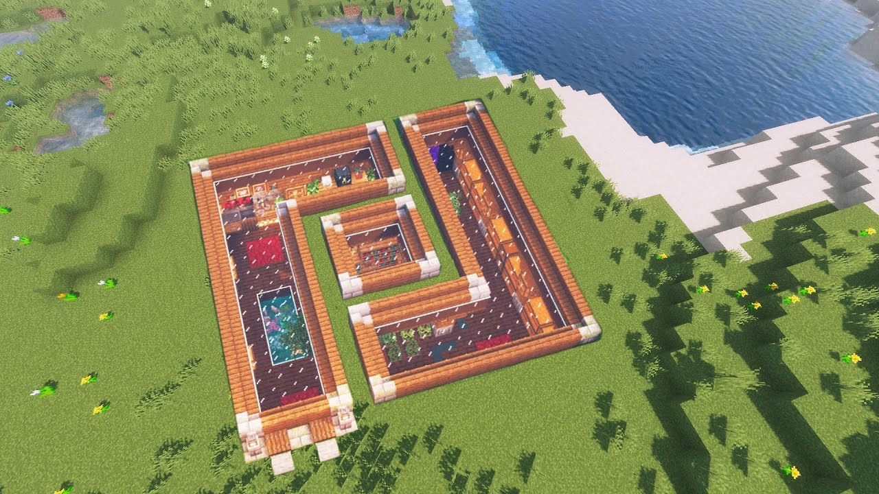 Minecraft unterirdisches Haus bauen - Minecraft Untergrund Basis bauen | Tutorial Deutsch