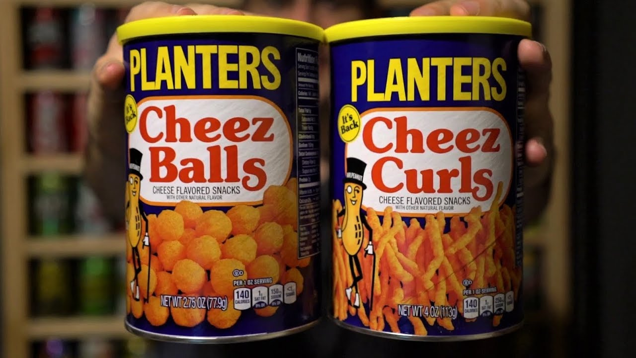 CTC Review #136 - Planters Cheez Balls & Cheez Curls (with an appeal on mr. peanut, planters peanuts, stove top stuffing, kraft cheese nips, a1 steak sauce, planters cheese puffs, oscar mayer, planters cheese curls, bingo balls, nike soccer balls, planters product, prince polo, miracle whip, kraft singles, planters cheese ba s, planters honey roasted cashews, boca burger,