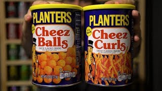 CTC Review #136 - Planters Cheez Balls & Cheez Curls (with an appeal to bring back P.B. CRISPS!)