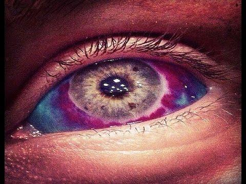 Eyeball tattoos tattoo inside the eye youtube for Eye tattoo images