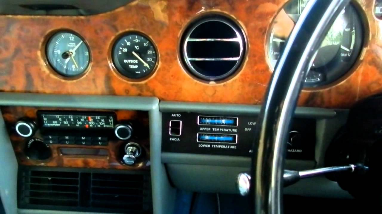 hight resolution of my rolls royce silver shadow ii interior description drive