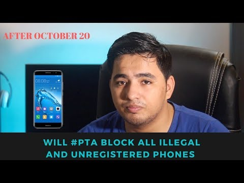 Will #PTA Block All Illegal and Unregistered Phones After October 20  Z.A Channel Latest information