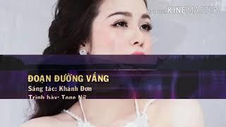 KARAOKE : Đoạn Đường Vắng Anh _ ( full beat ) Nhật Kim Anh