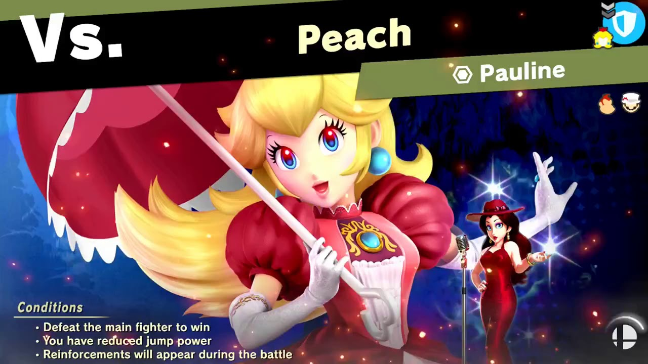 Super Smash Bros  Ultimate - World of Light Pauline Spirit Fight (Normal  Difficulty with Ness)