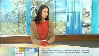 Елена Шамова (исполнительница роли Цили) на Первом