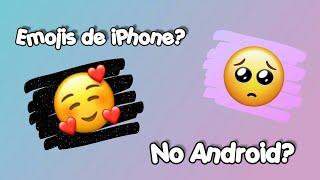 Como ter emoji de iPhone no Android 2019