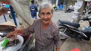 Cụ bà 72 tuổi bán chè hơn 30 năm rẻ nhất Sài Gòn - PhuTha
