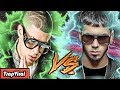 BAD BUNNY VS ANUEL AA | BATALLAS VIRALES DE TRAP | ROMANOLAVOZ (VideoClip Oficial)