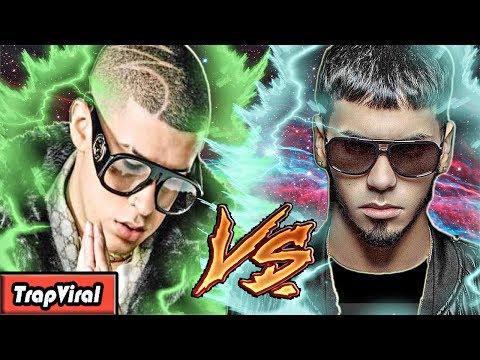 BAD BUNNY VS ANUEL AA   BATALLAS VIRALES DE TRAP   ROMANOLAVOZ (VideoClip Oficial)