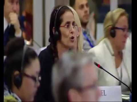 MK. Dr. Anat Berko in OSCE Parliamentary Assembly in Georgia - 05.07.16