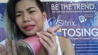 review sitrix tosing bluetooth microphone with speaker
