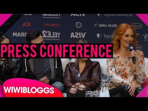 "Albania press conference: Eneda Tarifa ""Fairytale"" @ Eurovision 2016 | wiwibloggs"