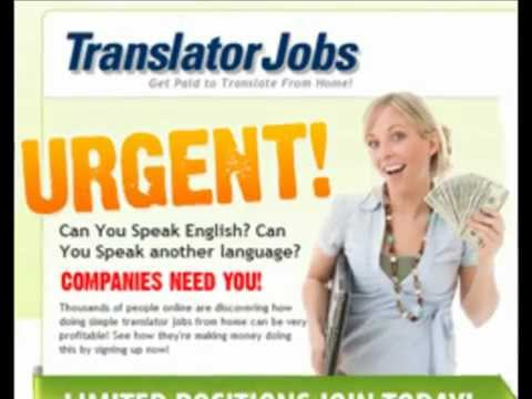 Translator Jobs - Must See!