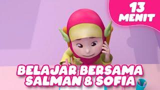 Belajar Bersama Salman & Sofia | Adek Baju Merah Aishwa Nahla | Dan lagu lainnya