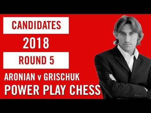 World Chess Candidates 2018 | Berlin | Round 5 - Aronian v Grischuk