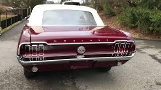 1968 mustang convertible c code 289