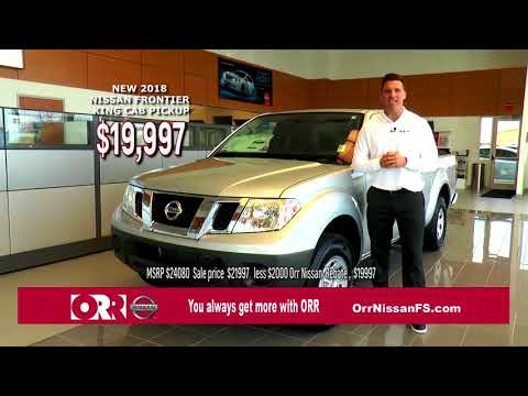 ORR NISSAN   FRONTIER   MARCH 2018 iii