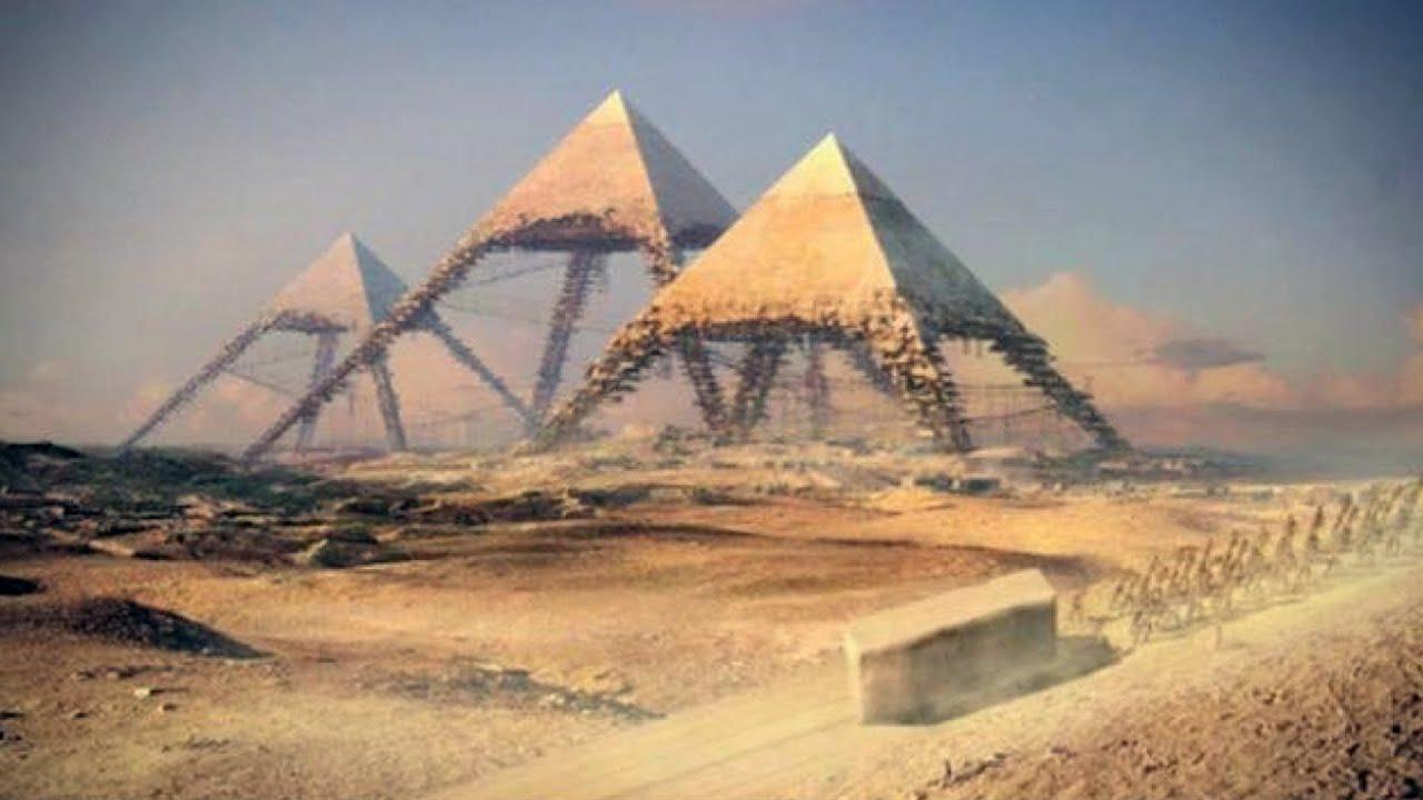 كيف بنيت الأهرامات ؟