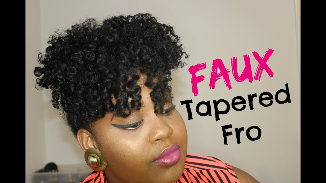 Faux Tapered Cut On Medium Long Quot Natural Hair Quot W Original
