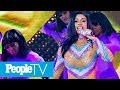 Cardi B Suffers A Wardrobe Malfunction At Bonnaroo, Instead Hits The Stage In A Bathrobe | Peopletv