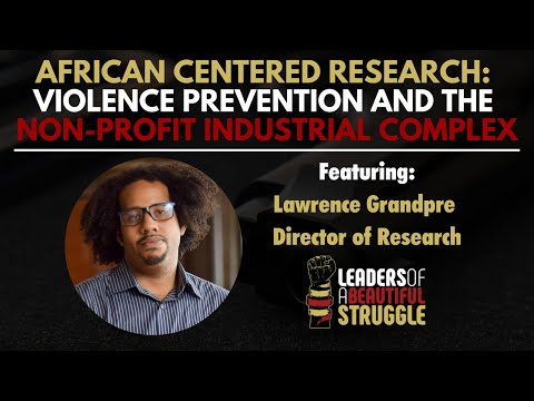 African Centered Research: Violence Prevention and the Non-Profit Industrial Complex