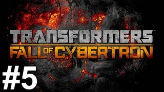 Transformers Fall of Cybertron Gameplay Walkthrough Part 5 No Commentary