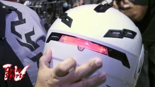 GMAX Helmet with wireless brake light
