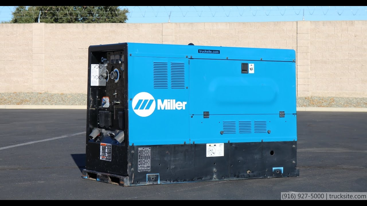 miller big blue 500d cc  cv welder generator for sale